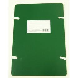 Szalagos irományfedél A/4 1050g zöld