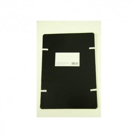 Szalagos irományfedél A/4 1050g fekete