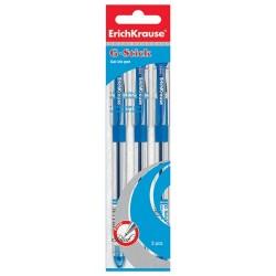 Zselés toll ErichKrause G-Stick 0,5 mm kék eldobható