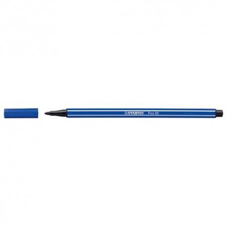 Rostirón Stabilo Pen 68 1,0 mm kék