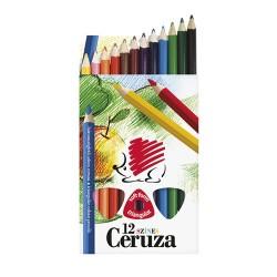 Színes ceruza Ico Süni Jumbo háromszögletű vastag 12 db-os klt.