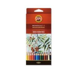 Színes ceruza Koh-i-noor Mondeluz 12 db-os klt. 3716