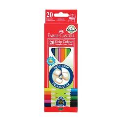 Színes ceruza Faber-Castell Junior háromszögletű 20 db-os klt.