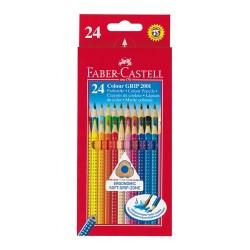 Színes ceruza Faber-Castell Grip 2001 24 db-os klt.