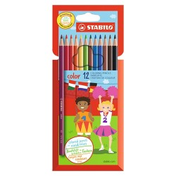 Színes ceruza Stabilo Color 1912 12 db-os klt.