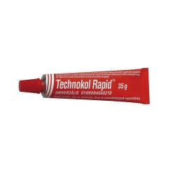 Ragasztó Technokol rapid 35g piros