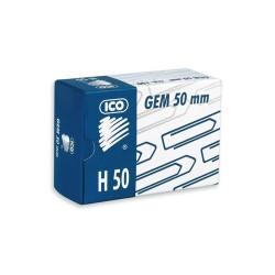 Gemkapocs Ico 50 mm nikkel 100 db/doboz