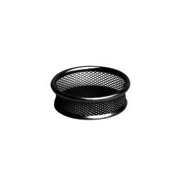 Gemkapocstartó fémhálós Deli fémhálós fekete HY680225-B