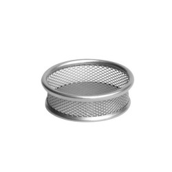 Gemkapocstartó fémhálós Deli fémhálós ezüst HY680225-S