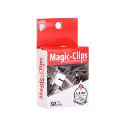 Iratcsipesz Ico Magic Clip 6.4 mm 50 db/doboz -i