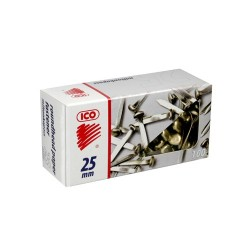 Milton kapocs Ico 25 mm 100 db/doboz