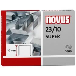 Tűzőkapocs Novus 23/10 1000 db/doboz