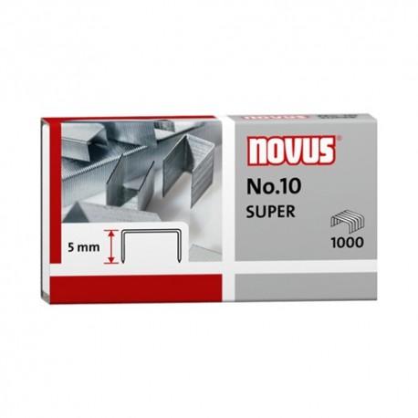 Tűzőkapocs Novus No.10 1000 db/doboz