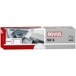 Tűzőkapocs Novus NE 6 1000 db/doboz