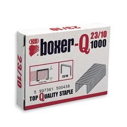 Tűzőkapocs Boxer-Q 23/10 1000 db/doboz