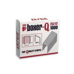 Tűzőkapocs Boxer-Q 23/17 1000 db/doboz