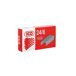 Tűzőkapocs Ico 24/6 1000 db/doboz