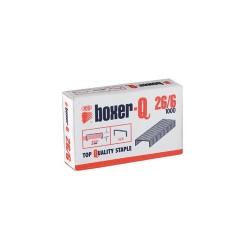 Tűzőkapocs Boxer-Q 26/6 1000 db/doboz