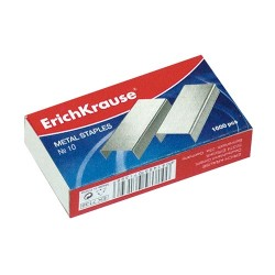 Tűzőkapocs ErichKrause No.10 1000 db/doboz