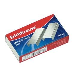 Tűzőkapocs ErichKrause 24/6 1000 db/doboz