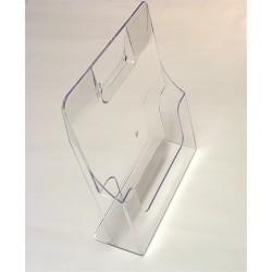 Prospektustartó A/4 asztali áttetsző DP-1113