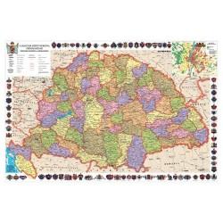 Könyöklő Stiefel 66x45 cm Magyar Szent Korona országai/Történelmi emlékek Kárpád-medence
