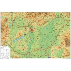 Könyöklő Stiefel 66x45 cm Magyarország domborzata/Magyarország borvidéke