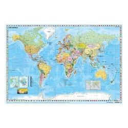Könyöklő Stiefel 66x45 cm Föld országai / Közép Európa autótérképe