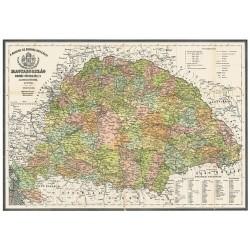 Könyöklő Stiefel 66x45 cm Magyarország 1876/Mo. járás antik