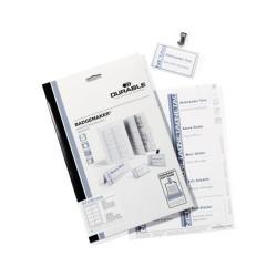 Névjegykártyatartó betét Durable 54x90 mm 200 db/csomag