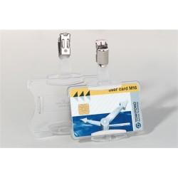 Névkitűző Durable 85x54 mm biztonsági kártyához