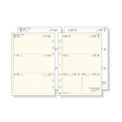 Gyűrűs kalendárium kiegészítő Saturnus L311/F éves áttekintő heti fehér L-es