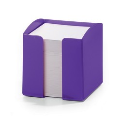 Jegyzettömb-tartó Durable Trend 90x90 mm 800 lapos jegyzettömbbel lila