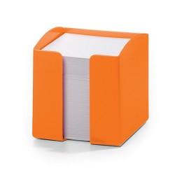 Jegyzettömb-tartó Durable Trend 90x90 mm 800 lapos jegyzettömbbel narancssárga