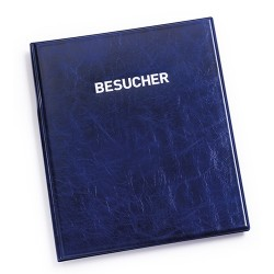 Látogatókönyv Durable előnyomott német