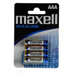 Elem Maxell alkáli LR03 AAA mikro 4 db/csomag