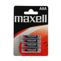Elem Maxell féltartós R03 AAA mikro 4 db/csomag