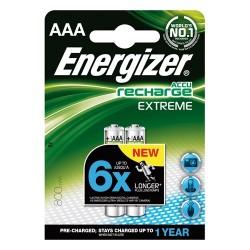 Elem Energizer tölthető-akkuelem 800mA HR03 AAA mikro Extreme 2 db/csomag