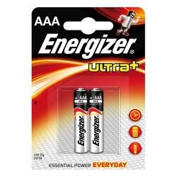 Elem Energizer Ultra+ alkáli LR03 AAA mikro 2 db/csomag