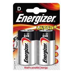 Elem Energizer Ultra+ alkáli LR20 D góliát 2 db/csomag