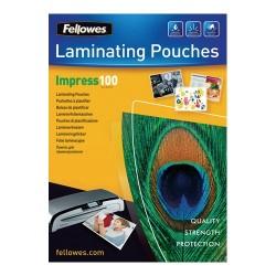 Lamináló fólia Fellowes A/3 100 mic. fényes 100 lap/csomag