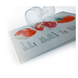 Lamináló fólia 111x154 mm 125 mic. 100 lap/csomag