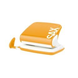 Lyukasztó Sax Design 318 20 lap narancssárga