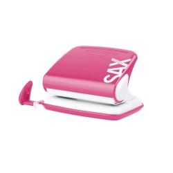 Lyukasztó Sax Design 318 20 lap rózsaszín