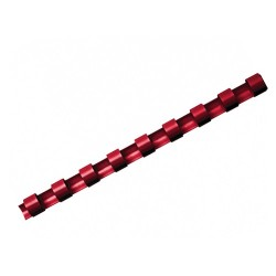 Spirál Fellowes 14 mm 81-100 lap piros