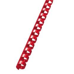 Spirál RBC 8 mm 21-40 lap mm piros