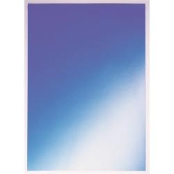 Hátlap Leitz A/4 250g fényes kék 37302