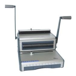 Spirálozógép Recosystem WB6 3:1 osztású fém ikerspirálozó 25 lap