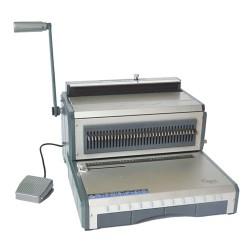 Spirálozógép Recosystem WB 6E 3:1 osztású fém ikerspirálozó elektromos 25 lap