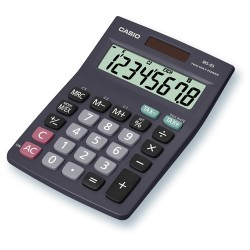 Számológép Casio MS-8 B S asztali 8 számjegy